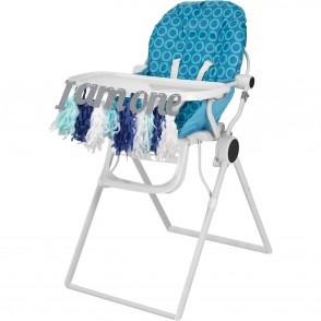 1st Birthday Boy High Chair Decoration