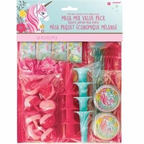 Magical Unicorn 48 Piece Favor Value Pack