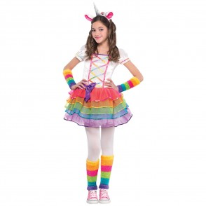 Unicorn Rainbow Costume Size: S