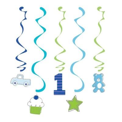 Doodle 1st Birthday Dizzy Hanging Danglers