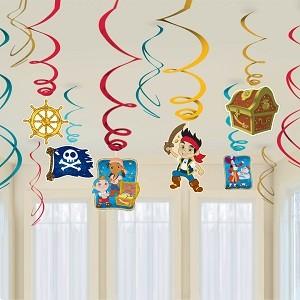 Jake and The Neverland Swirl Decoration