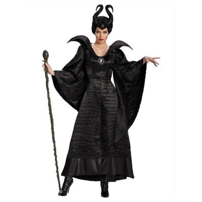 Maleficent Deluxe Adult Costume Size: Large 12-14