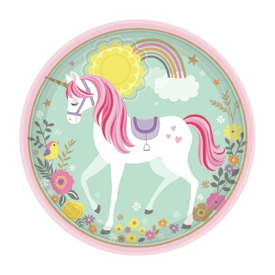 Magical Unicorn Plates