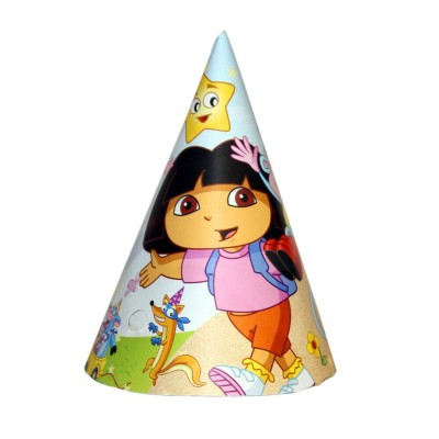 Dora The explorer Birthday Party Hats
