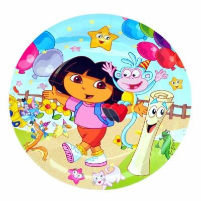 Dora The explorer Birthday Party Plates