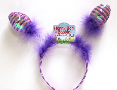 Easter Sequin Bobble Headband