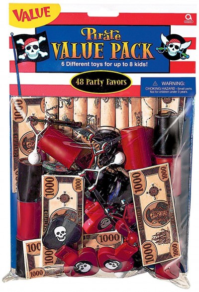 Pirate Value Pack Party favors - 48 pcs