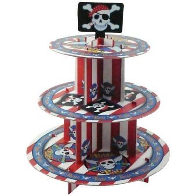 Pirate 3 Tier Cake stand