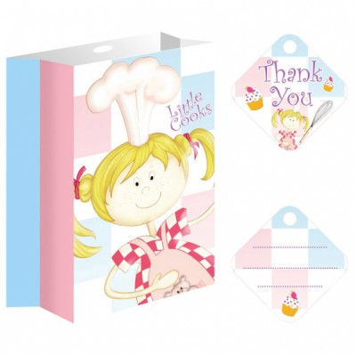 Little Cooks Birthday Party Giveaway Bags