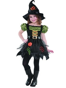 Pumpkin Patch Witch Costume