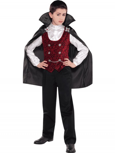 Dark Vampire Costume Size: Medium