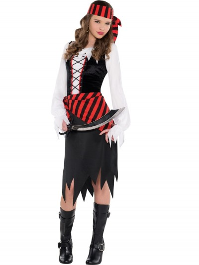 Buccaneer Beauty Costume Size: Large