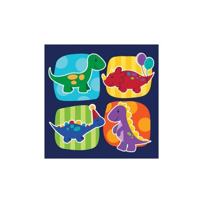 Little Dino Birthday Party Napkins
