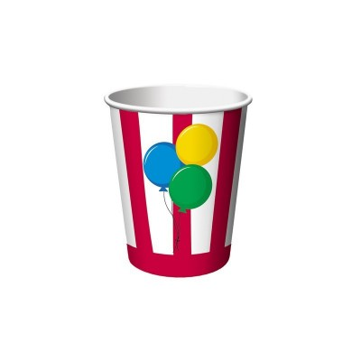 Circus Time Birthday Party Cups