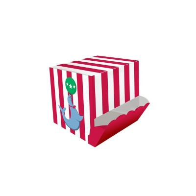 Circus Time Birthday Party Candy Dispensing Treat Box