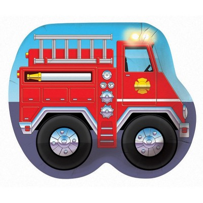 Fire Fighter Birthday Party Truck Shaped Plates