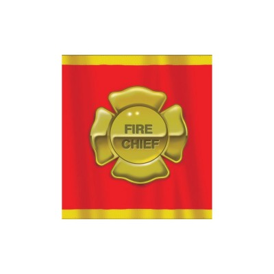 Fire Fighter Birthday Party Printed Plastic Table Cover