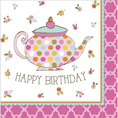 Tea Time Party Napkins