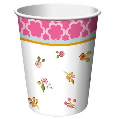 Tea Time Party Cups