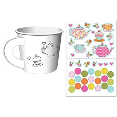 Tea Time Party Activity Treat Box