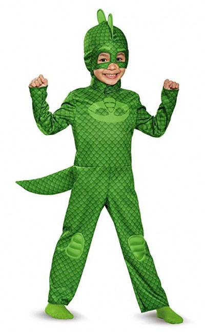 PJ Mask Gekko Costume Size:4-6